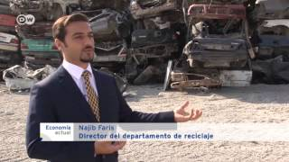 Reciclaje de autos en los Emiratos Árabes