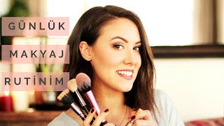 Günlük Makyaj Rutinim // Everyday Make Up Routine // Cansu Dengey