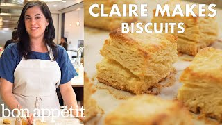 Claire Makes the Flakiest Buttermilk Biscuits | From the Test Kitchen | Bon Appétit