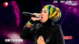 Shila Amzah - 征服 Zheng Fu (Asian Wave 2012 Show)