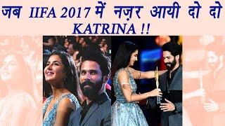 IIFA 2017: Katrina Kaif's DOUBLE ROLE at Award Function; Watch | FilmiBeat