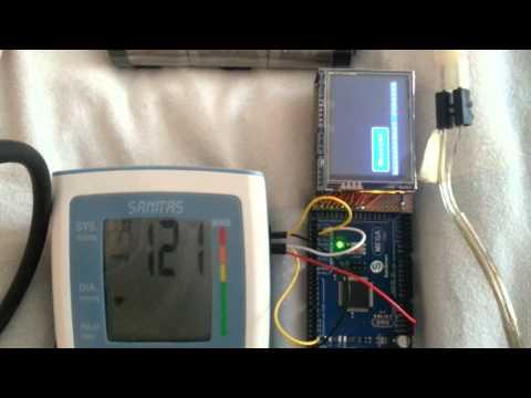 SBM30 (hl868ba) Blood Pressure Monitor Arduino Hack