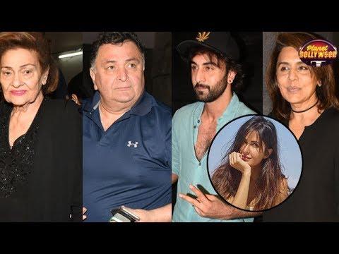 Kapoor Khaandaan Comes Together For 'Jagga Jasoos' Screening | Bollywood News