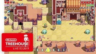 Cadence of Hyrule: Crypt of the NecroDancer Ft. The Legend of Zelda - Nintendo Treehouse: Live