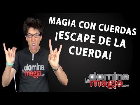 Truco de magia El Escape de la cuerda Domina La Magia