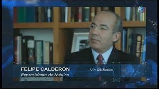 """Felipe Calderón rechaza que su gobierno haya sido """"narcoestado"""" y responde a AMLO"""
