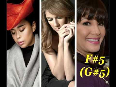 Download SophiaSusan huang (黄绮珊)VS Celine Dion VS Regine Velasquez C3-C6 free