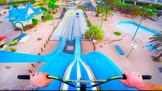 BMX RIDING IN ABANDONED WATERPARK IN DUBAI!
