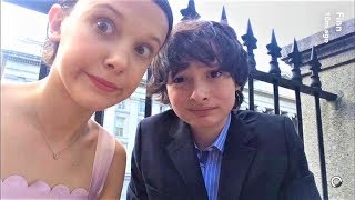 Finn Wolfhard and Millie Bobby Brown Funny Cute Moments
