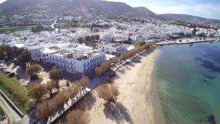 Paros Island - Aerial Video Paroikia