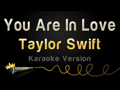 Taylor Swift - You Are In Love (Karaoke Version)