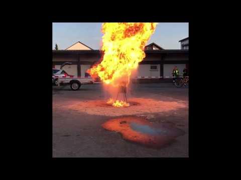 FFW Ettenheim - Beispiel: Fettexplosion