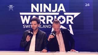 Milo Moire almost nacked at Ninja Warriors Switzerland