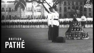 Presentation Of Colour To 4th Battalion Malaya Regiment (1953)