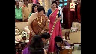 Hoy Ma Noy Bouma witnessed dramatic scene on the floor of Bengali serial Seemarekha
