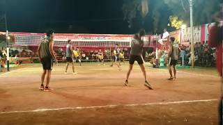 Surender Rajasthan vs soheb maharashtra All india shooting volleyball tournament at Anjar, mp