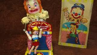 60s Yonezawa Pinocchio Puppet Show Vintage Battery Toy
