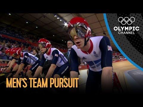 Team GB Set New Team Pursuit