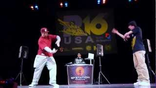 Dizzy (PBI) vs Boy Wonder (Soul Sector) | R16 USA 2011 Popping Top 4 | Funk'd Up TV