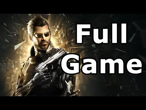 Deus Ex: Mankind Divided Full Game Walkthrough - Longplay No Commentary (PS4)