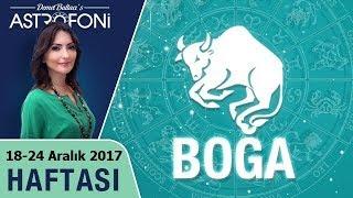 Boğa Burcu  Haftalık Astroloji Yorumu 18-24 Aralık 2017, Astrolog Demet Baltacı