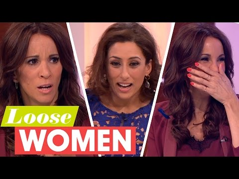 Xxx Mp4 Saira Khan Tricks Andrea With A Crazy Sex Confession About Her Dog Loose Women 3gp Sex