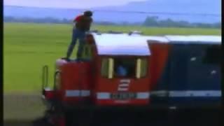 Kereta api di iklan rokok th.1996