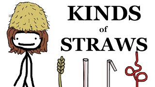 The Different Kinds of Straws