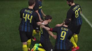 AC Milan vs Inter Milan - Derby Della Madonnina - Pro Evolution Soccer 2017 (PES 2017)