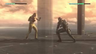 Metal Gear Solid 4 Solid Snake vs. Liquid Ocelot HD