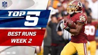 Top 5 Runs of Week 2   2017 NFL Highlights