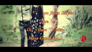Juneli ratma lyrics video by nepalese dikesh