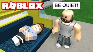 KIDNAPPED BY MY CRIMINAL PARENTS IN ROBLOX