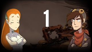 Chaos on Deponia part 1 (Game Movie) (Story Walkthrough) (No Commentary)