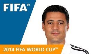 Referees at the 2014 FIFA World Cup™: ALIREZA FAGHANI
