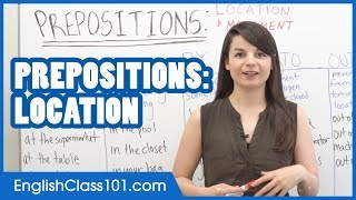 Prepositions of Place: AT, IN, BY, INTO, OUT OF - Common English Mistakes
