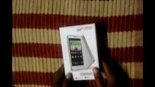 Micromax Canvas Doodle A111 - Unboxing - Boot - Cover and Stylus