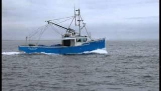 Fishing boat engine - idle sound effect