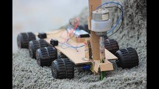 How to make a drill machine - earth Drill machine