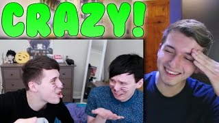 some bloopers from phil is not on fire 8 Reaction (PINOF 8 Bloopers)