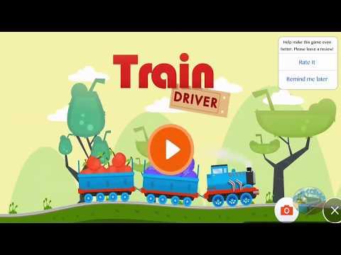 Thomas the Train Driver The Train Simulator for Kids Train Funny Dinosaur Cartoon Video for Children