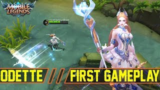 NEW HERO ODETTE First Gameplay! Useless or Not ? - Mobile Legends Patch 2.18