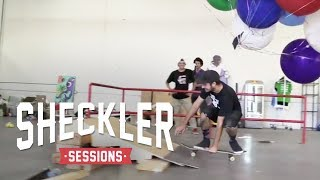 World's 1st Flying Dog & Fantasy Factory fun | Sheckler Sessions: S1E4