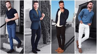 4 Easy Outfits for Men | The Blue Lookbook | Men
