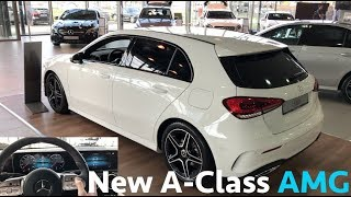 Mercedes-Benz 2019 New A-Class vs old - first in depth review in 4K