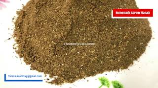 Authentic Homemade Garam Masala Recipe By Yasmin's Cooking