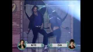 Eva-Nito coreo Fama a Bailar.. Funky-Inmunidad ( 17/12/08 )