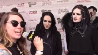 Hales with Motionless in White - APMAs 2016