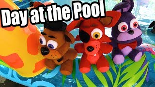 FNAF plush- Day at The Pool