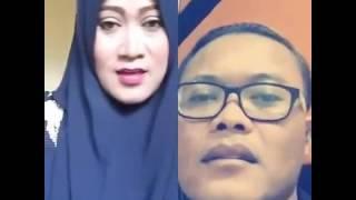 SMULE SULE Terbaru! Lucu dan Merdu Duet Dengan Mamah Muda Cantik! Lagu Sunda